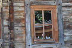 Ein Fenster - der Blick nach draußen
